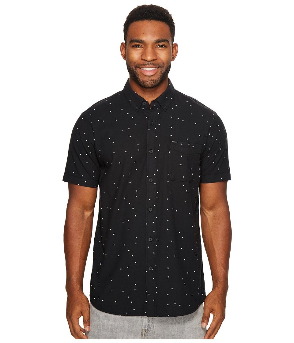 Rip Curl - Mixter Short Sleeve Shirt (White) Men's Clothing