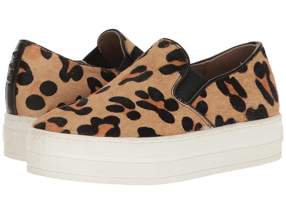 SKECHERS Street - Uplift - Wild Thang (Leopard) Women's Slip on Shoes