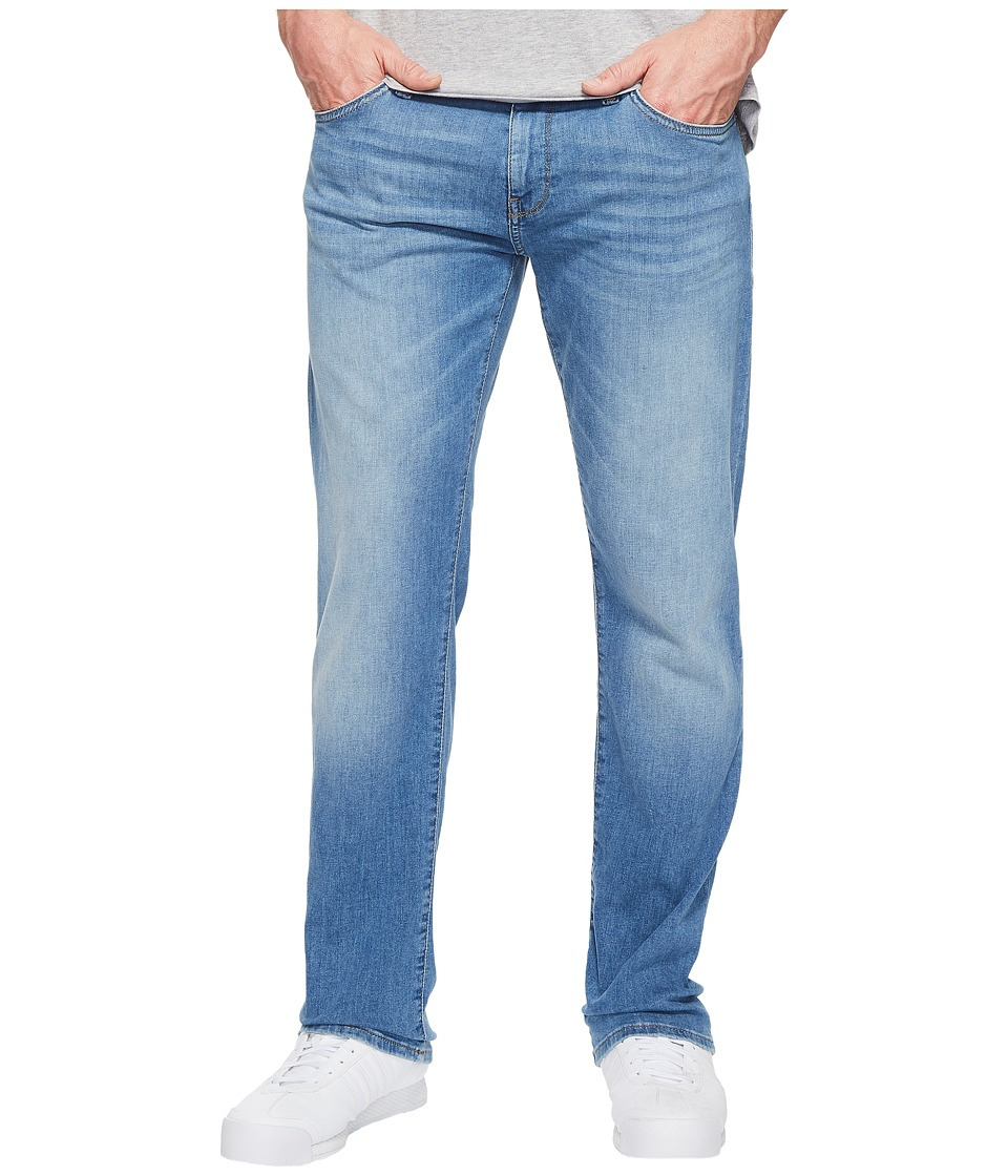 Mavi Jeans Zach Regular Rise Straight Leg in Light Summer Denim (Light Summer Denim) Men