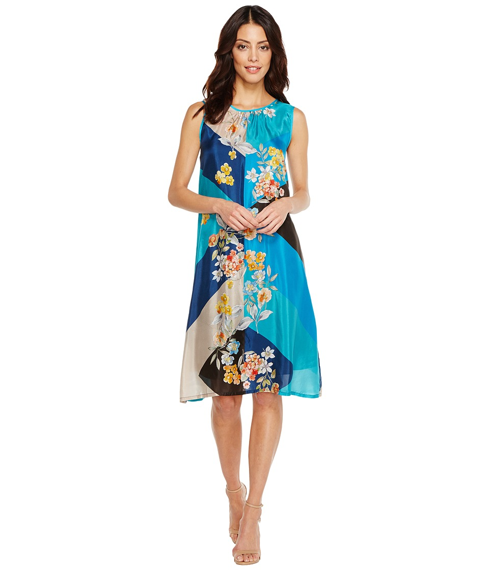 Johnny Was - Geo Flower Dress/Slip (Multi B) Women's Dress