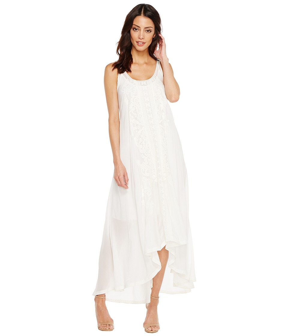 Johnny Was - Mattel Dress/Slip (White) Women's Dress