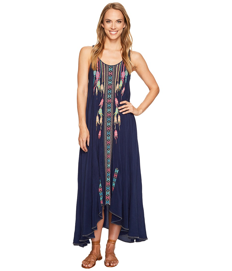 Johnny Was - Mimosa Dress/Slip (Blue Night) Women's Dress