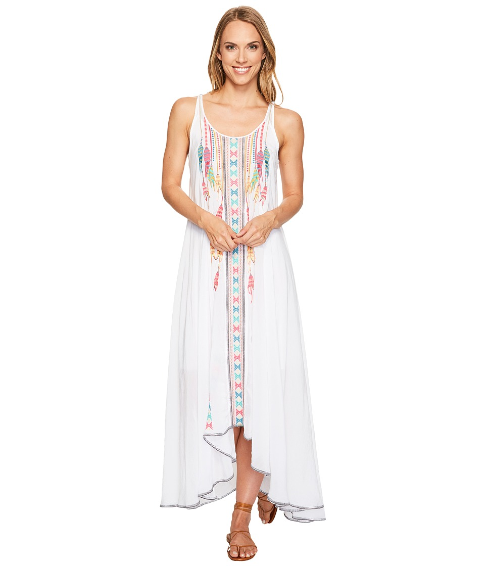 Johnny Was - Mimosa Dress/Slip (White) Women's Dress
