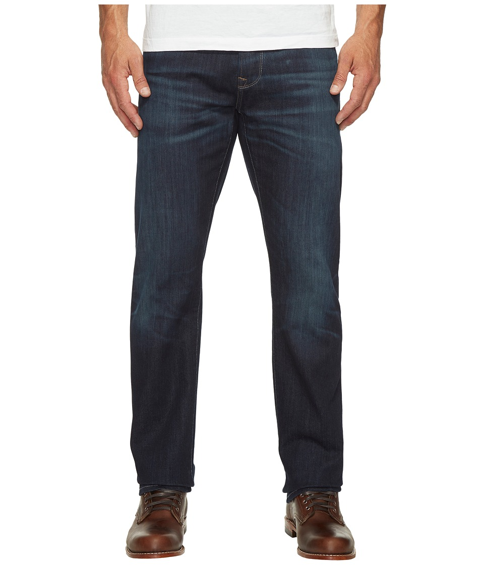Mavi Jeans Zach Regular Rise Straight Leg in Dark Shaded Authentic Vintage (Dark Shaded Authentic Vintage) Men