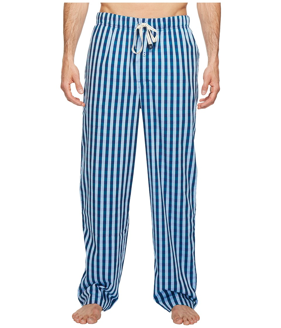 Original Penguin - Woven Pants (Blue Bell Safari Gingham) Men's Pajama