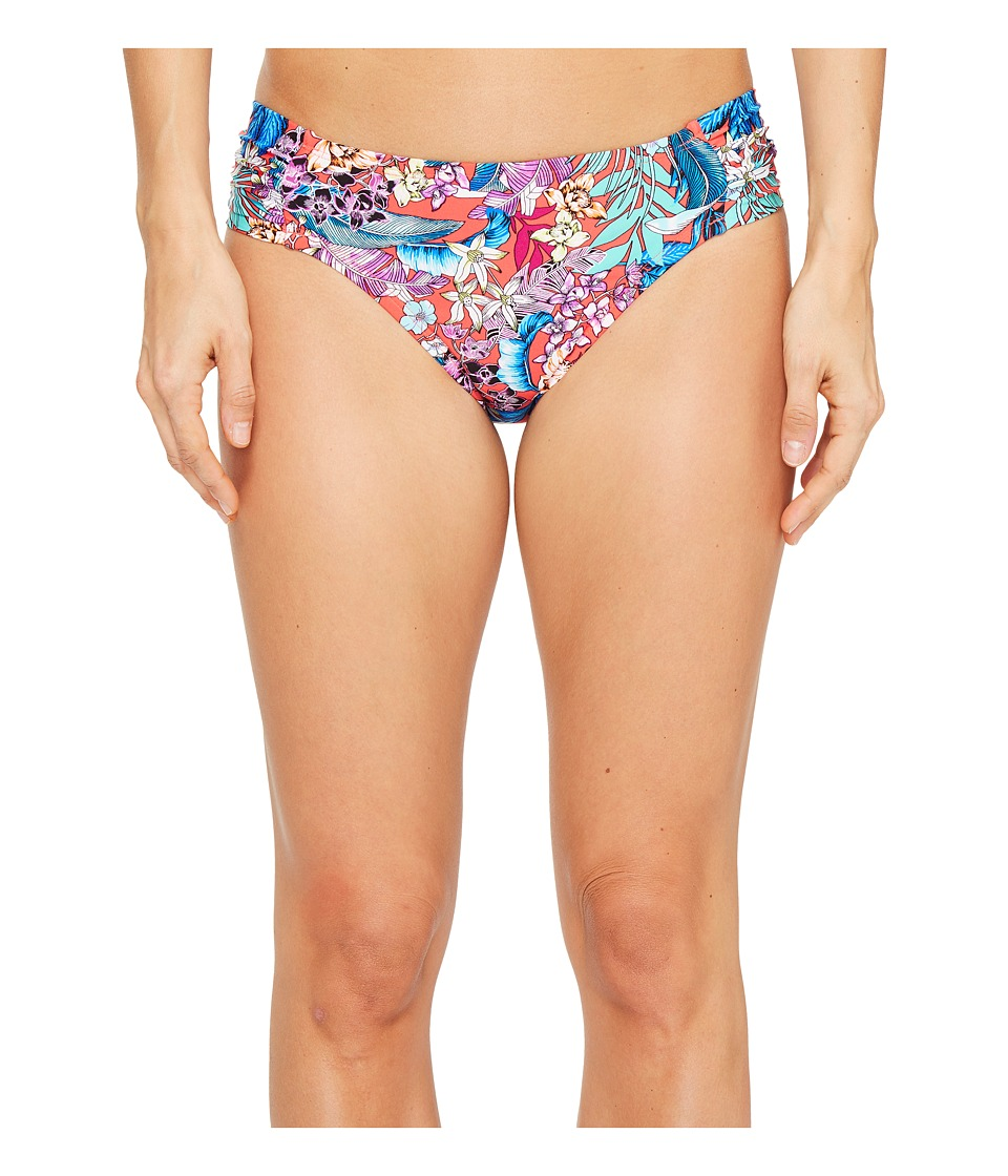 Kenneth Cole Tropical Tendencies Tab Side Hipster Bottom (Cherry) Women