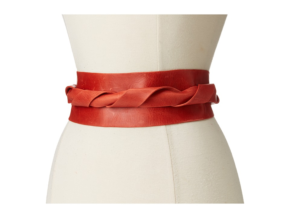 ADA Collection - Obi Classic Wrap (Coral) Women's Belts