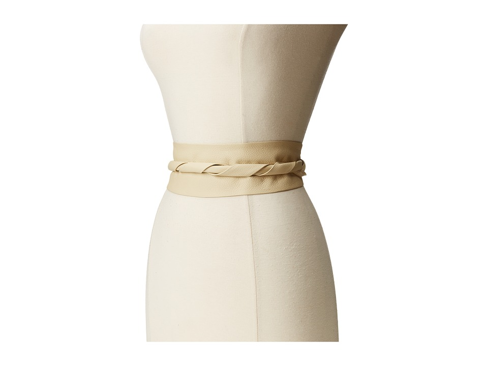 ADA Collection - Obi Classic Wrap (Cream) Women's Belts