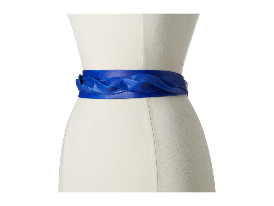 ADA Collection Midi Wrap Belt (Electric Blue) Women