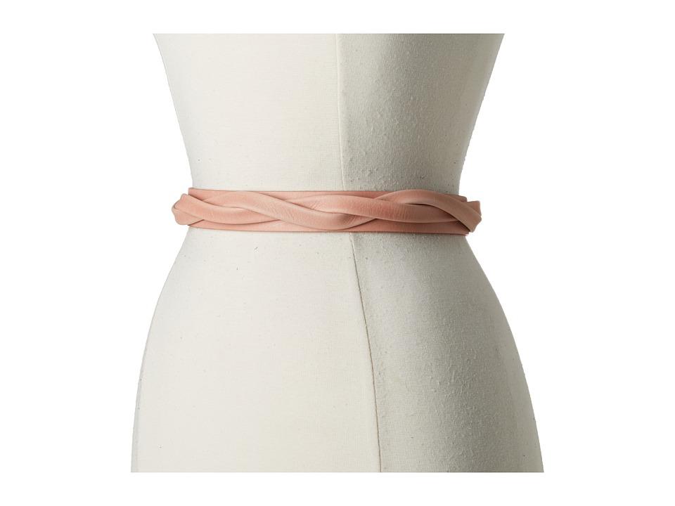 ADA Collection - Skinny Wrap Belt (Peach) Women's Belts
