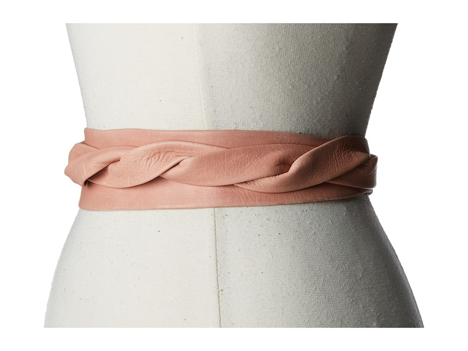 ADA Collection Midi Wrap Belt (Peach) Women