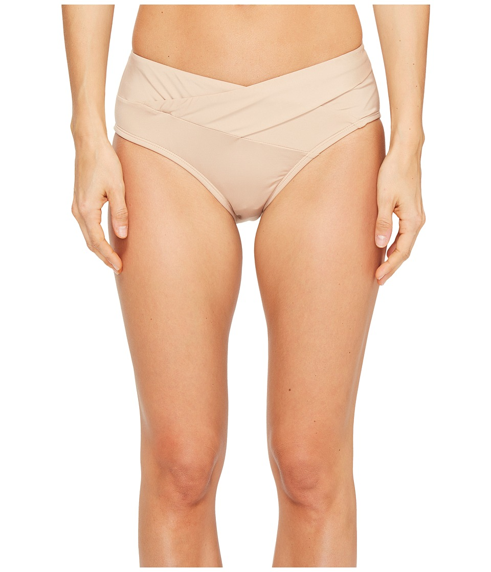 Kenneth Cole Sexy Solids Crossover Hipster Bottom (Sand) Women