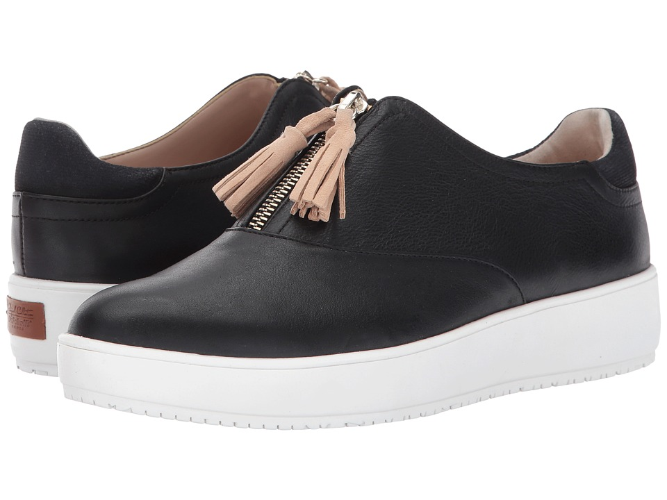 Dr. Scholl's - Blake Zip - Original Collection (Black Leather) Women's Shoes