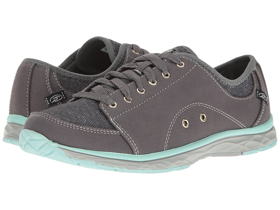 Dr. Scholl's - Anna (Grey Twill/Fabric) Women's Lace up casual Shoes