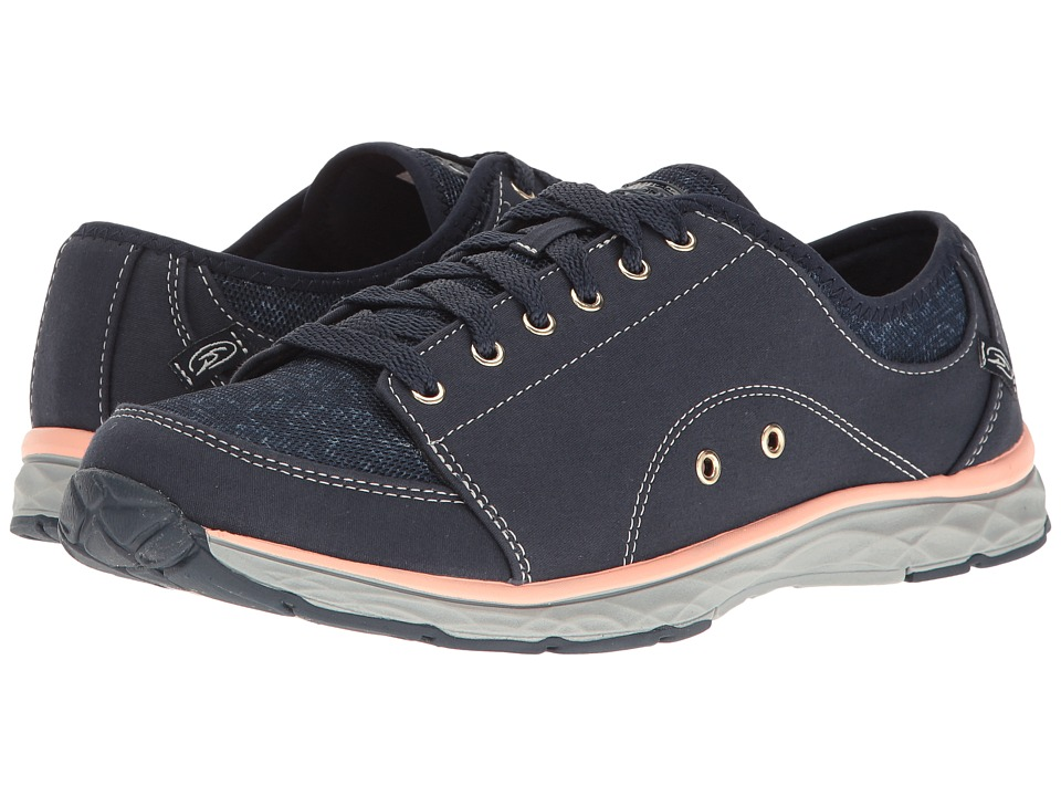 Dr. Scholl's - Anna (Navy Twill/Fabric) Women's Lace up casual Shoes