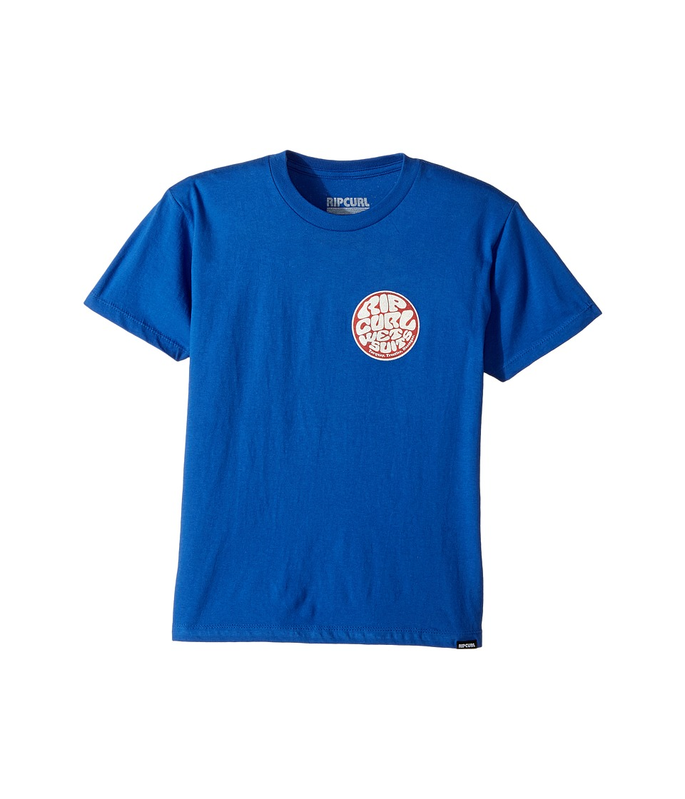 Rip Curl Kids - Jan Juc Premium Tee (Big Kids) (Royal) Boy's T Shirt