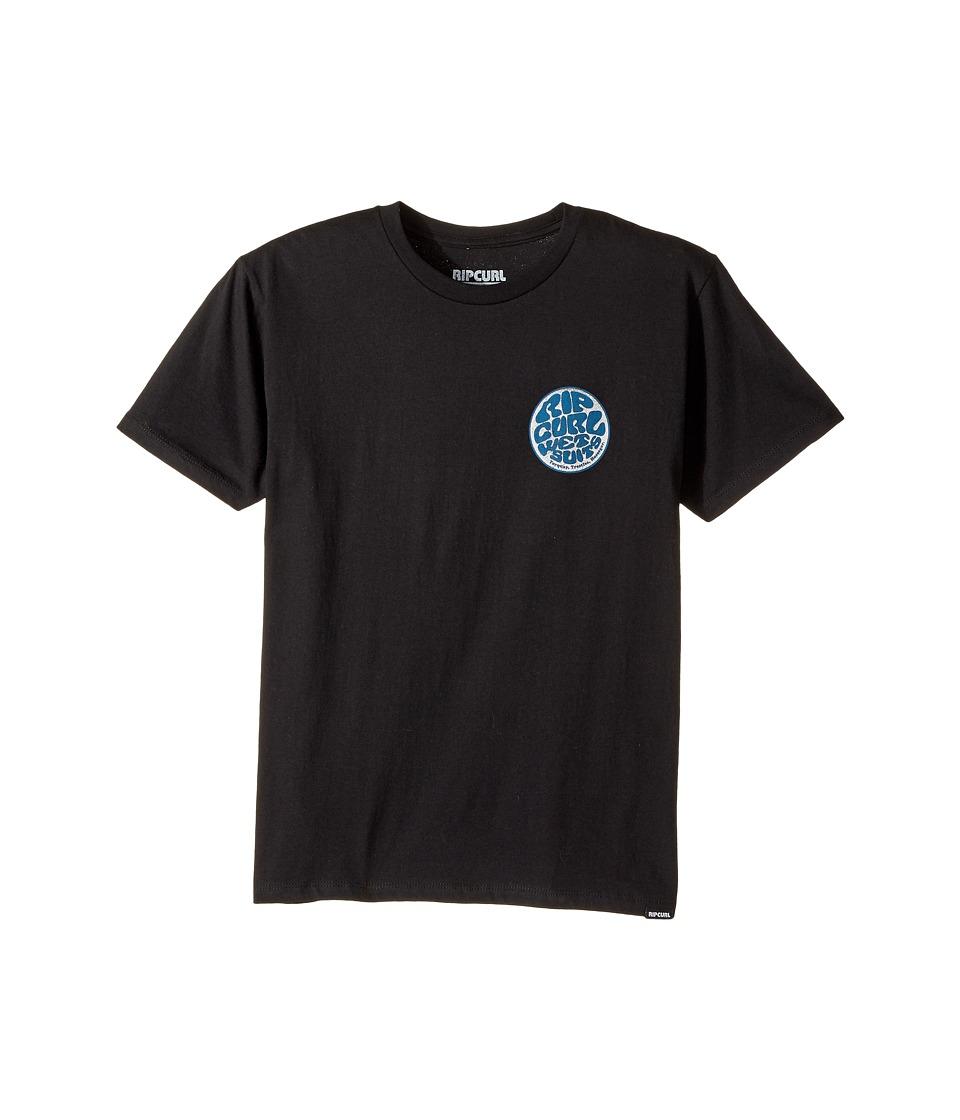 Rip Curl Kids - Jan Juc Premium Tee (Big Kids) (Black) Boy's T Shirt