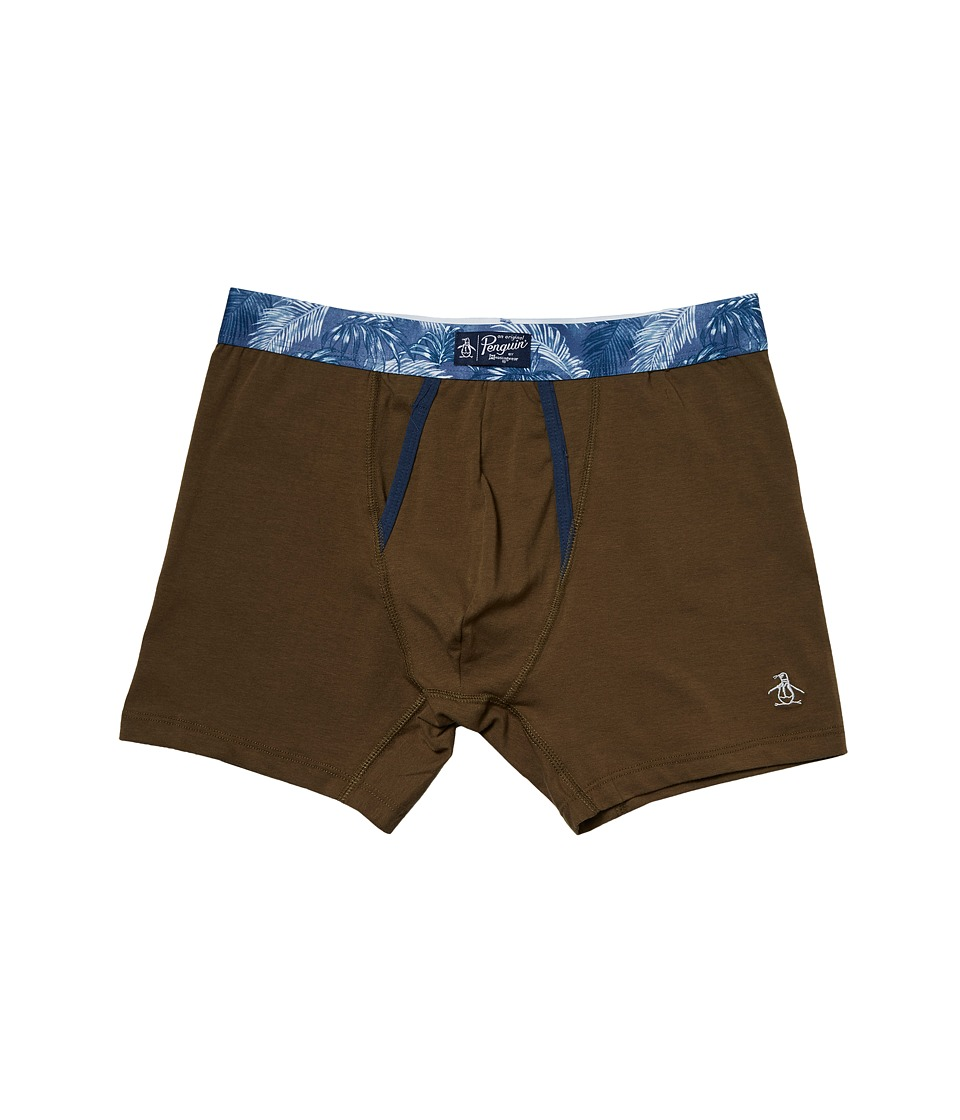 Original Penguin - Boxer Brief (Burnt Olive) Men's Underwear