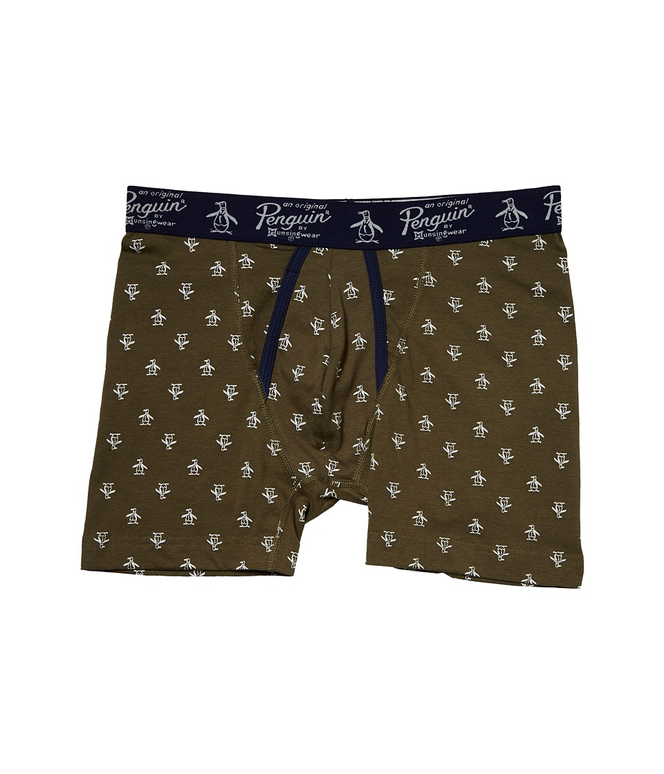 Original Penguin - Single Boxer Brief (Burnt Olive) Men's Underwear