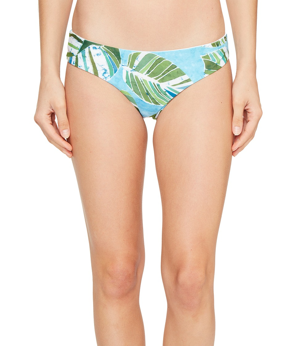 L*Space - Sumatra Palm Pixie Bottom (Turquoise) Women's Swimwear