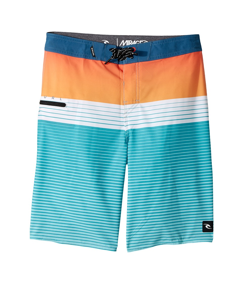 Rip Curl Kids Mirage Edge Boardshorts (Big Kids) (Teal) Boy