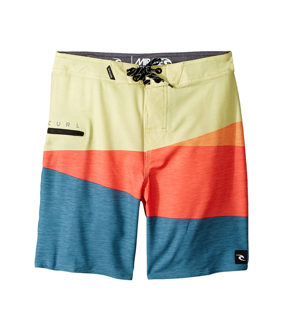 Rip Curl Kids Mirage Wedge Boardshorts (Big Kids) (Coral) Boy