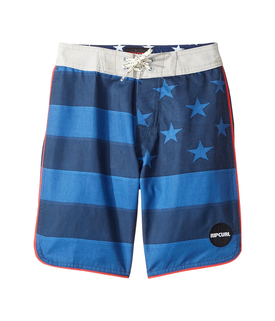 Rip Curl Kids Freestate Boardshorts (Big Kids) (Navy) Boy