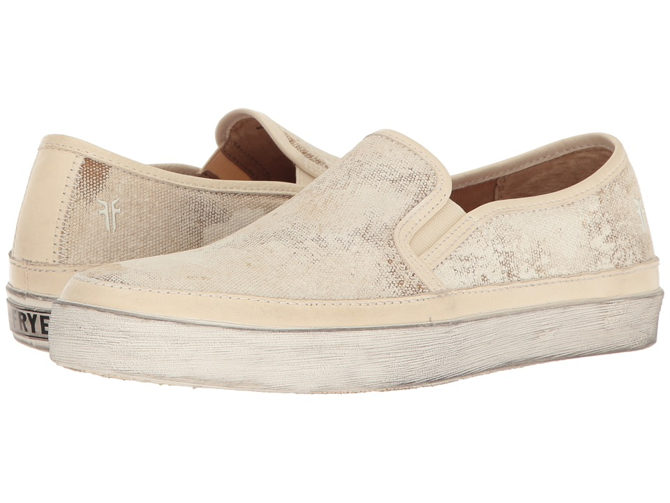 Frye - Gavin Slip-On (Off-White) Women's Slip on Shoes