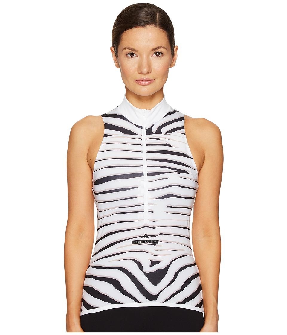 adidas by Stella McCartney - Cycling Adizero Tank Top S97432 (White/Black/New Rose) Women's Sleeveless