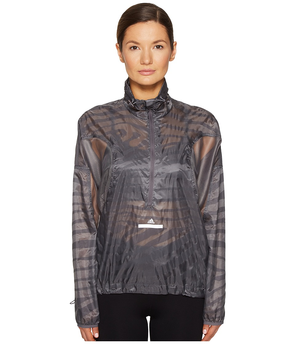 adidas by Stella McCartney - Cycling Adizero Pull-On S97416 (Granite) Women's Clothing