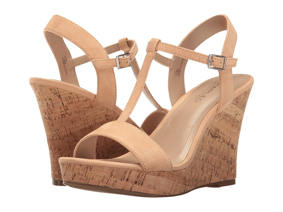Charles by Charles David - Libra (Nude) Women's Wedge Shoes
