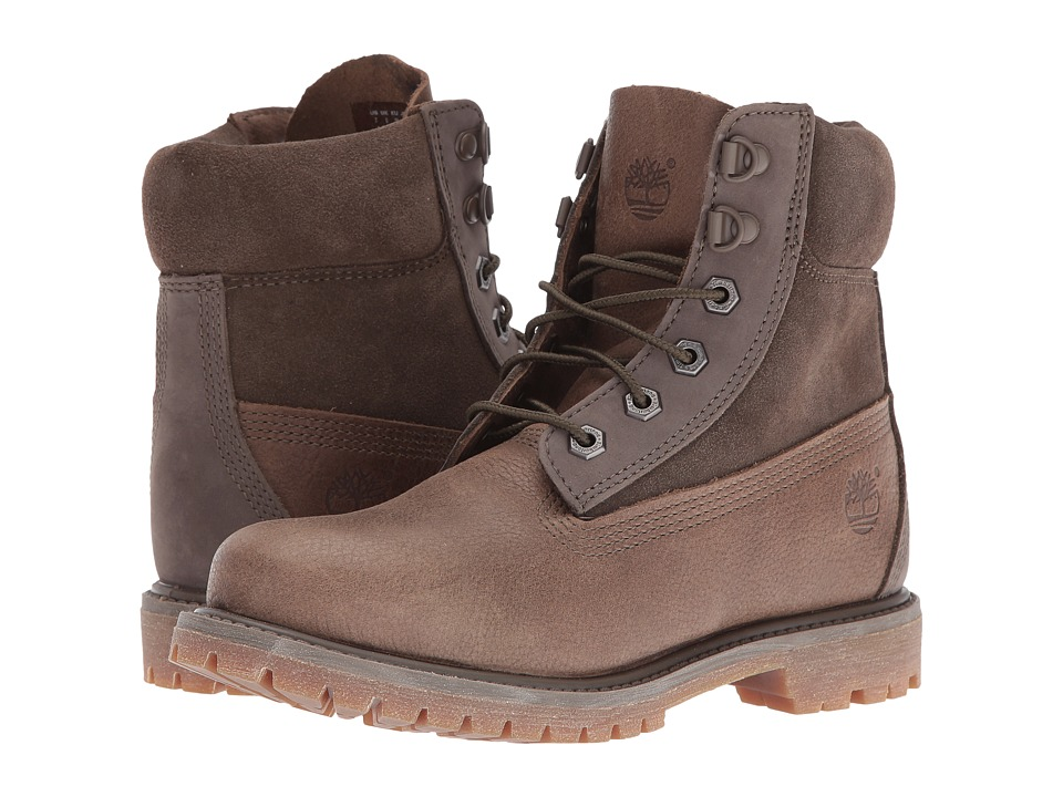 Timberland - 6 Premium D Ring (Canteen) Women's Shoes