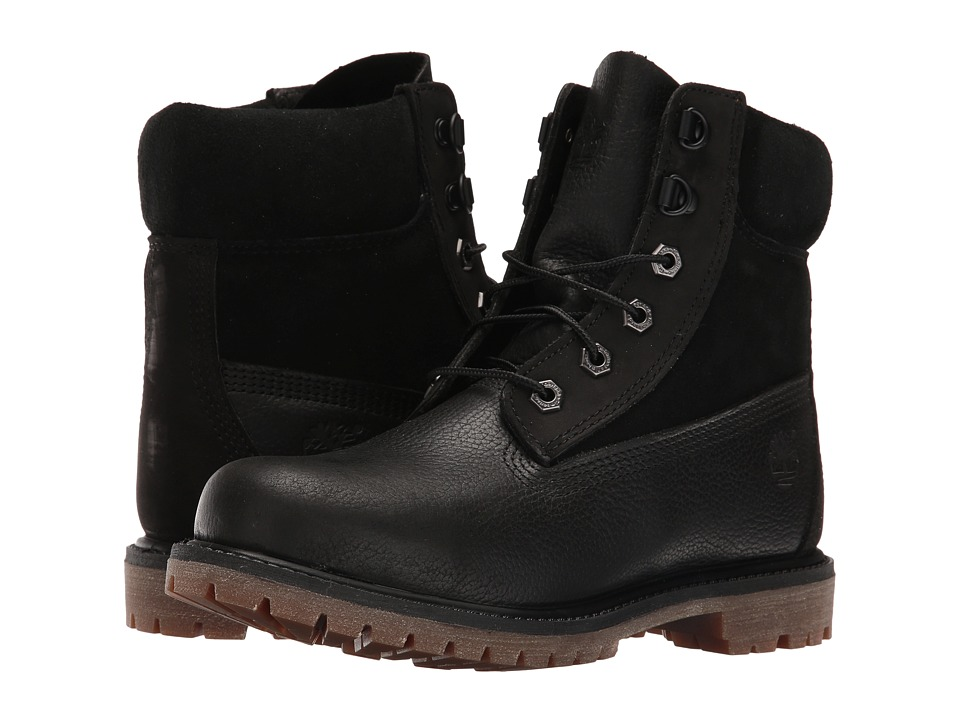 Timberland - 6 Premium D Ring (Black) Women's Shoes