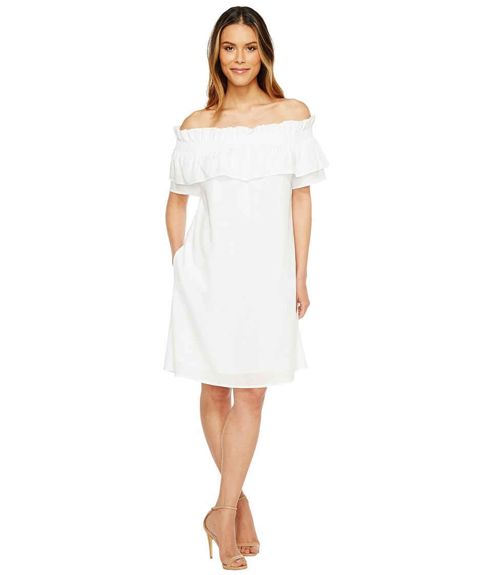CATHERINE Catherine Malandrino Denise Dress (Bright White) Women