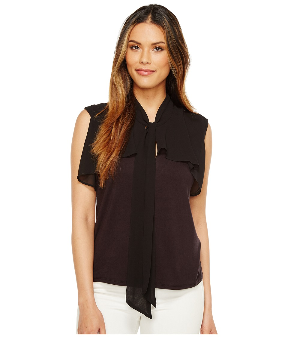 CATHERINE Catherine Malandrino - Costa Top (Black Beauty) Women's Clothing