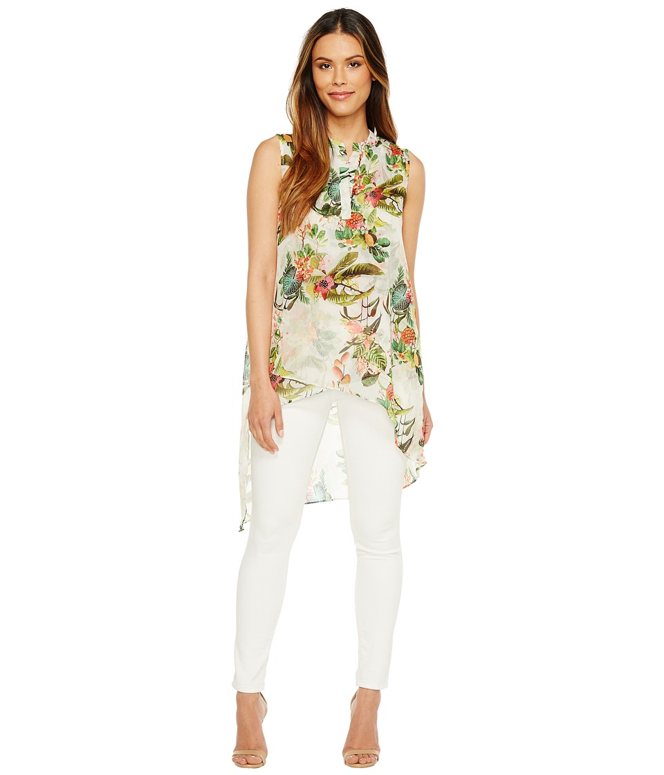 CATHERINE Catherine Malandrino - Livy Blouse (Jungle Floral) Women's Blouse