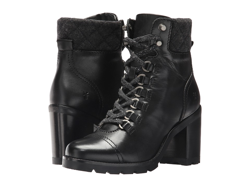 Frye Addie Hiker (Black) Women