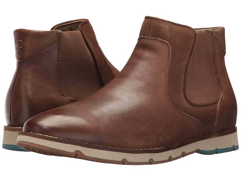 Hush Puppies Burwell Hayes (Taupe Leather) Men