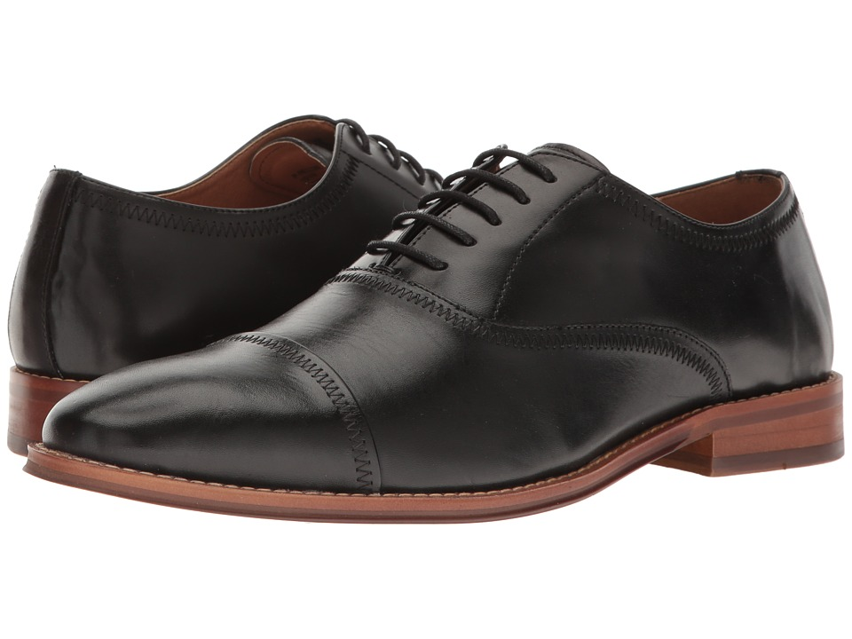 Steve Madden - Nellow Oxford (Black Leather) Men's Shoes