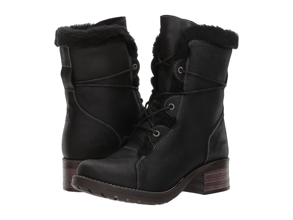 Taos Footwear Furkle (Black Oiled) Women