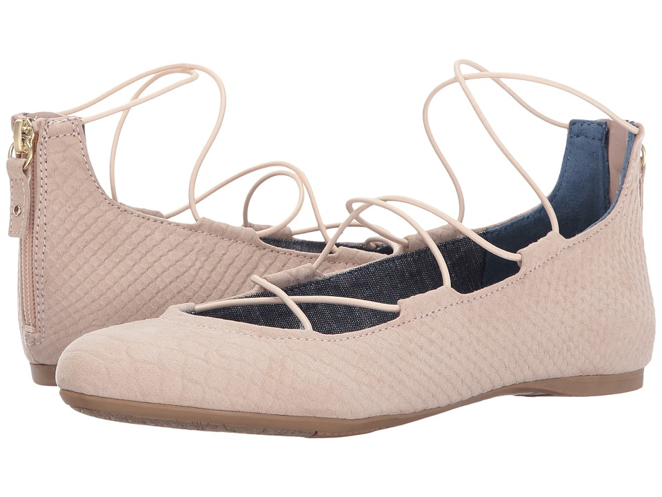 Dr. Scholl's - Glory (Blush Microsuede Snake Print) Women's Shoes