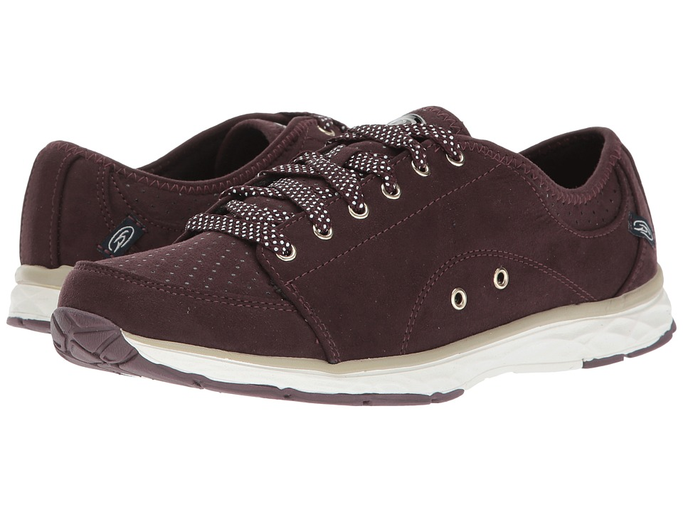 Dr. Scholl's - Anna (Merlot Microfiber) Women's Lace up casual Shoes