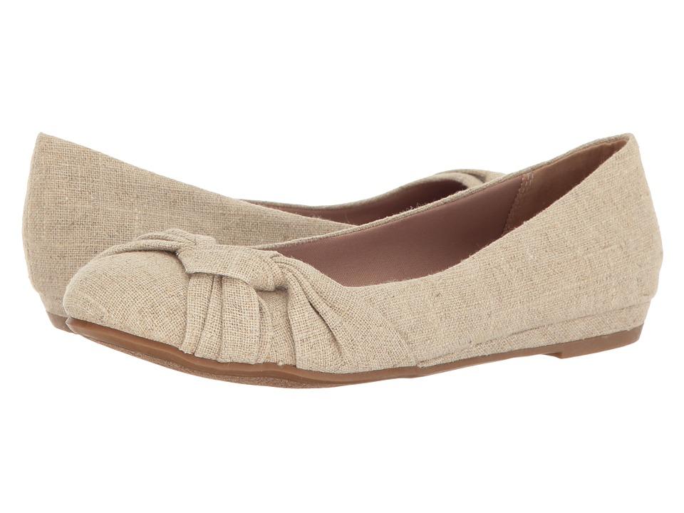 Fergalicious Sloan (Natural Linen) Women's Shoes