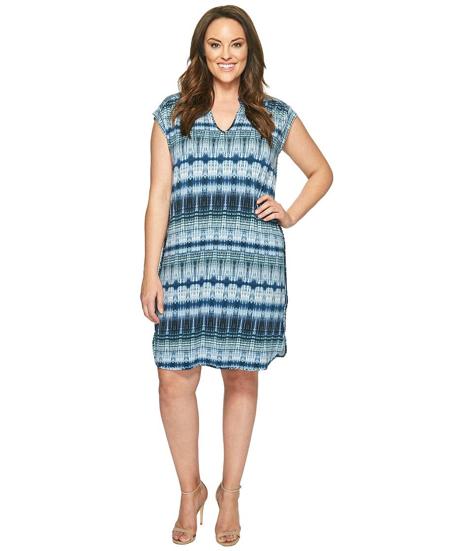 Tart Plus Size Mellie Dress (Tiered Tie-Dye) Women