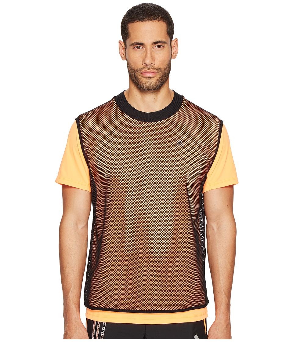 adidas x Kolor - CLMCHL Tee (Glow Orange) Men's T Shirt