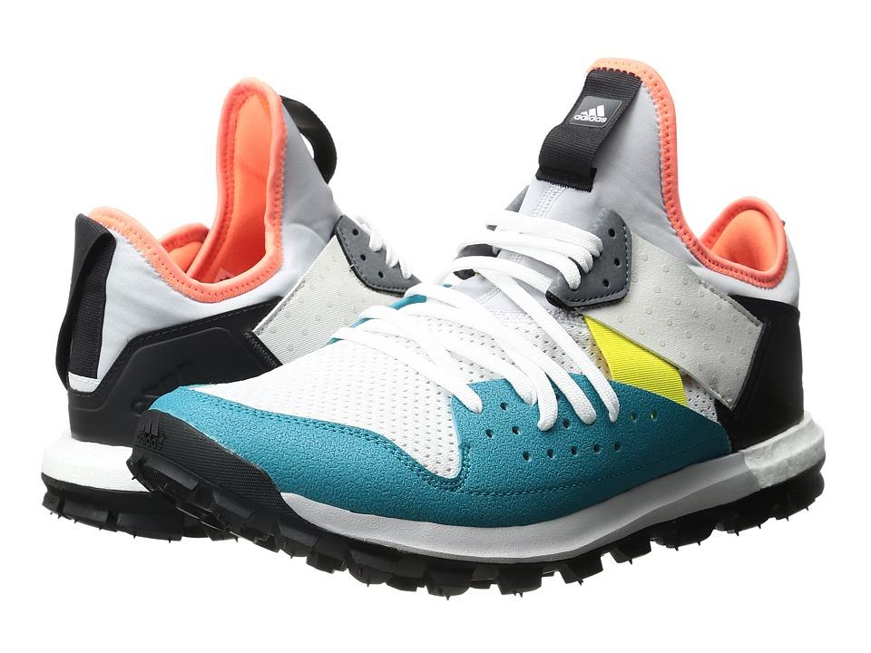 adidas x Kolor - Response Sneaker (White/Light Solid Grey/Lab Green) Men's Shoes
