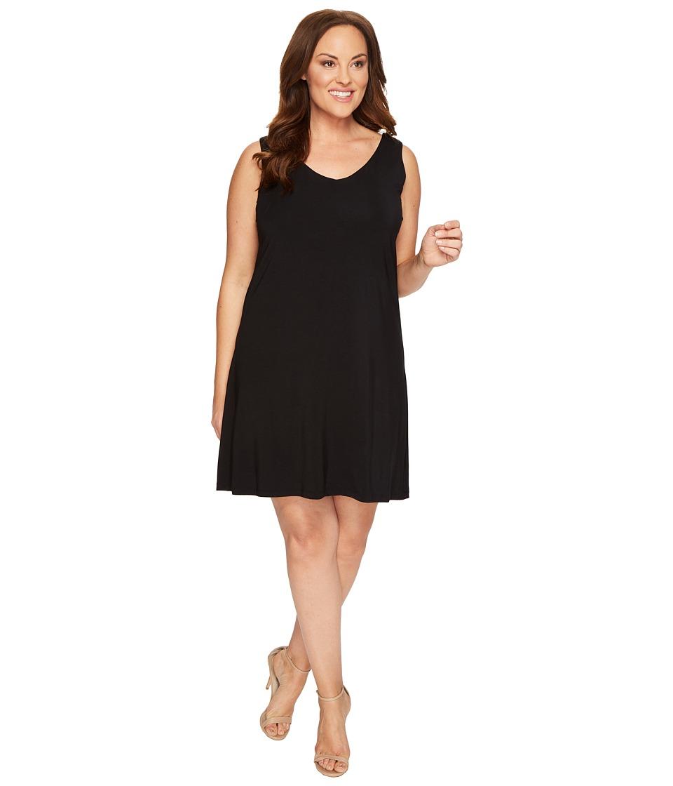 Tart - Plus Size Charlie Dress (Black) Women's Dress