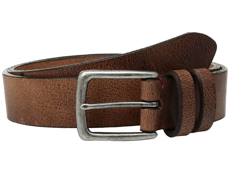 Torino Leather Co. - 35mm Antique Polished Harness Leather (Honey) Men's Belts