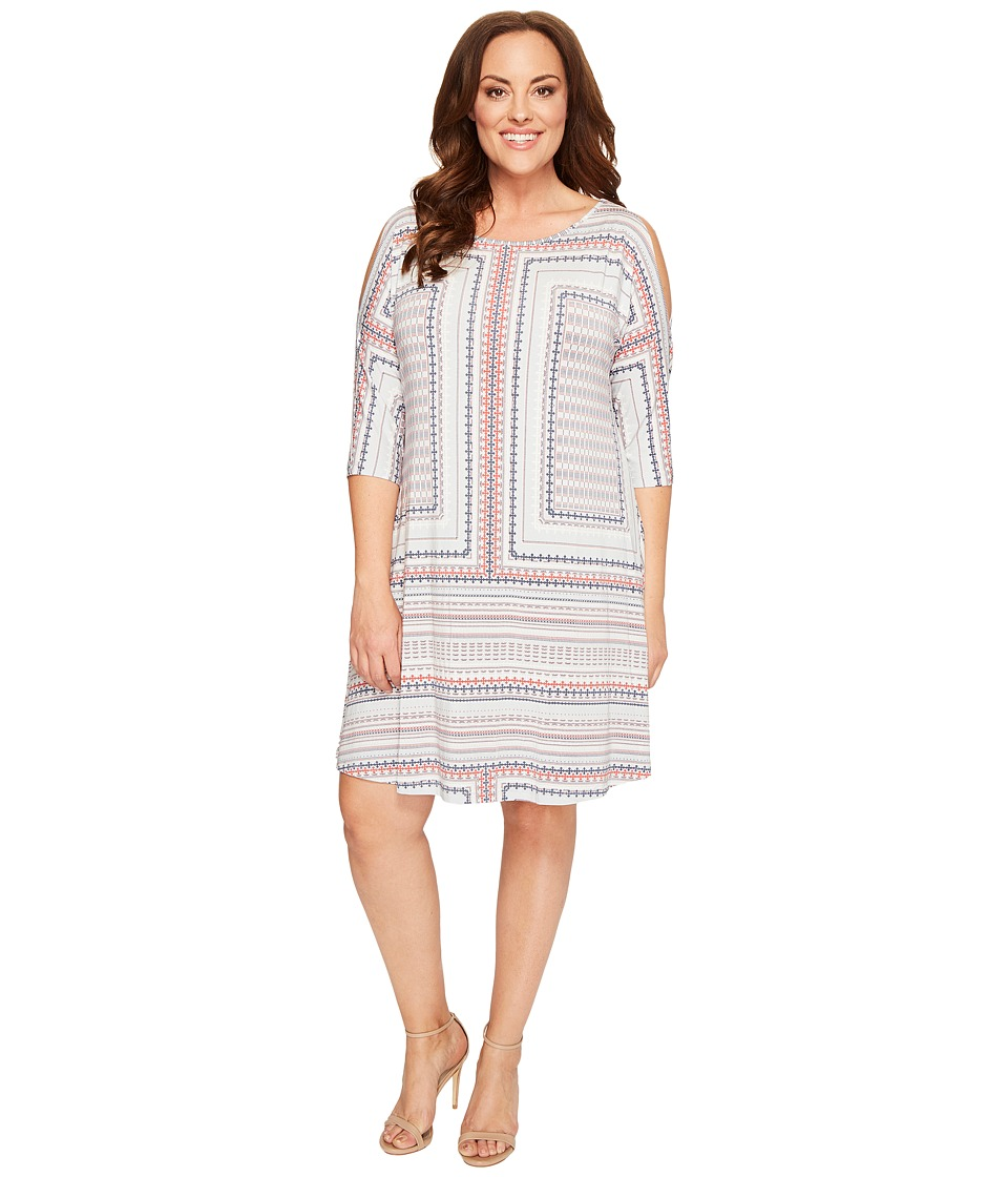 Tart - Plus Size Naya Dress (Mini Aztec) Women's Dress