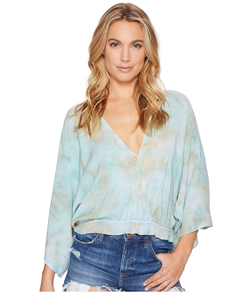 Blue Life - Hayley Kimono Top (Wonderland) Women's Clothing